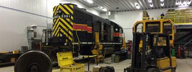 reparation locomotive